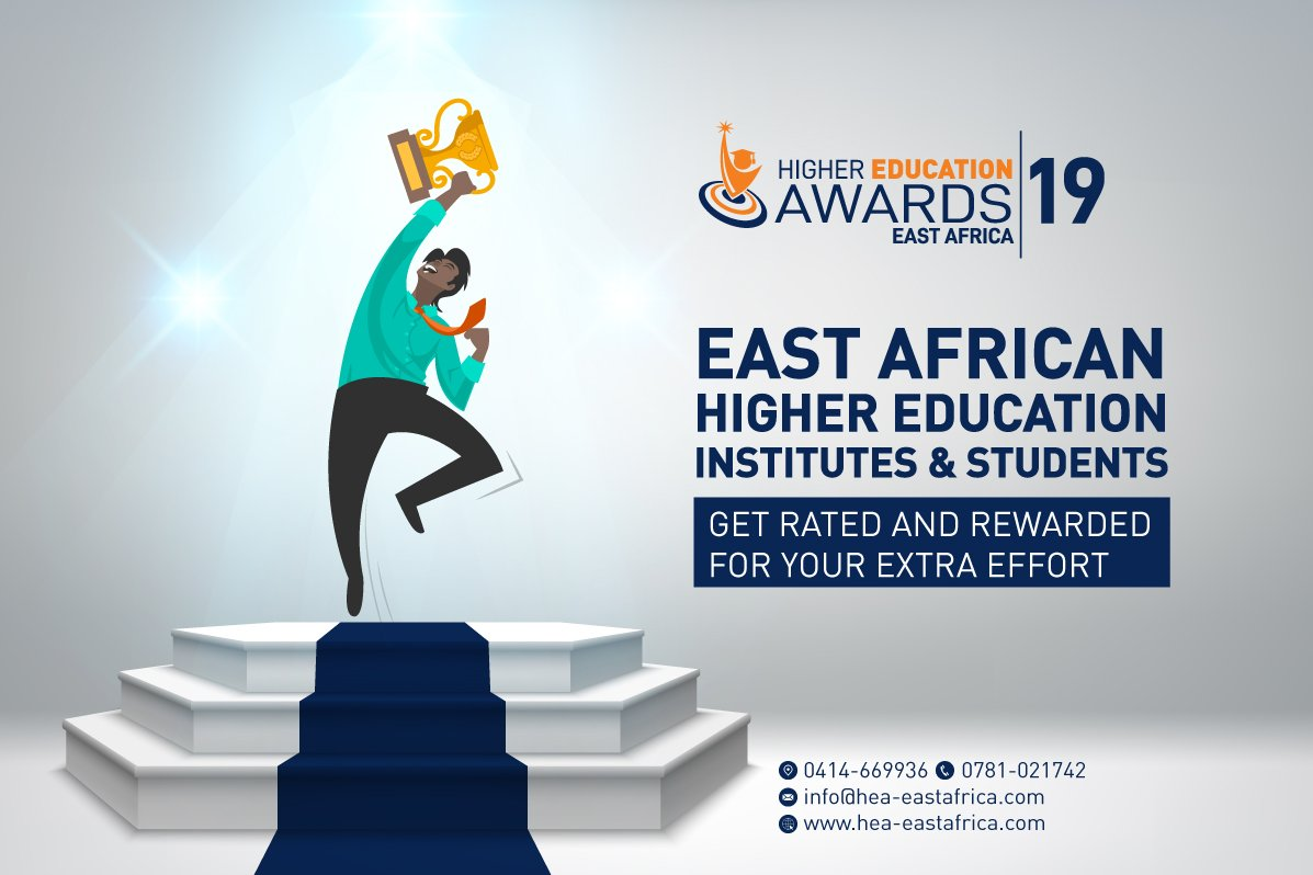 Inaugural Higher Education Awards - East Africa application closing on 31st March