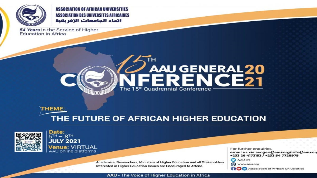 Final Call to Register for Free to attend the AAU 15th Quadrennial General Conference,
