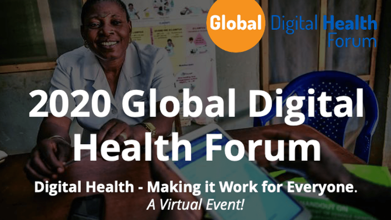 7th Global Digital Health Forum to be held virtually; December 7th-9th